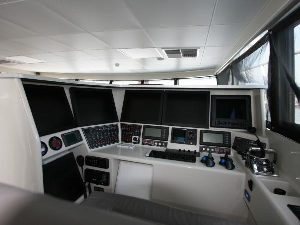 Ohana fishing boat design - control station