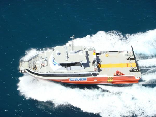 Warrego: utility service vessel