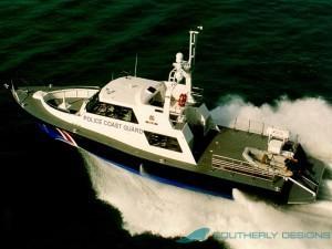 Singapore Police Coast Guard Patrol Boat