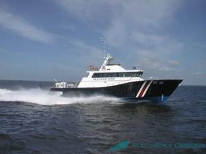 Singapore Police Coast Guard Command Boat