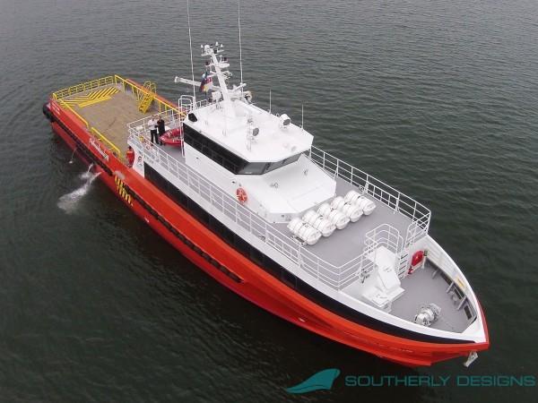40m Rig Personnel / Utility Vessel Gen 2