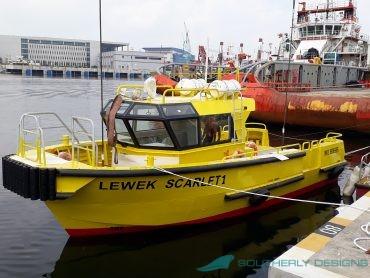 Lewek Scarlet Bow Launch Line Handling Vessel