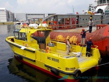 Lewek Scarlet Port Side Launch