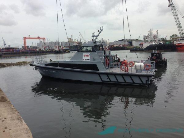 18m Fast Crew Boat