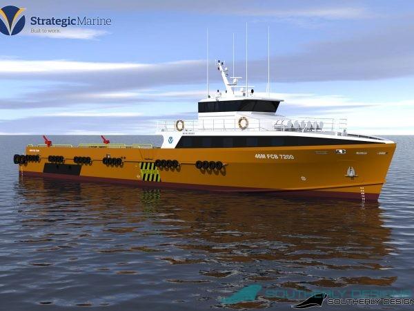 46m Fast Crew Boat