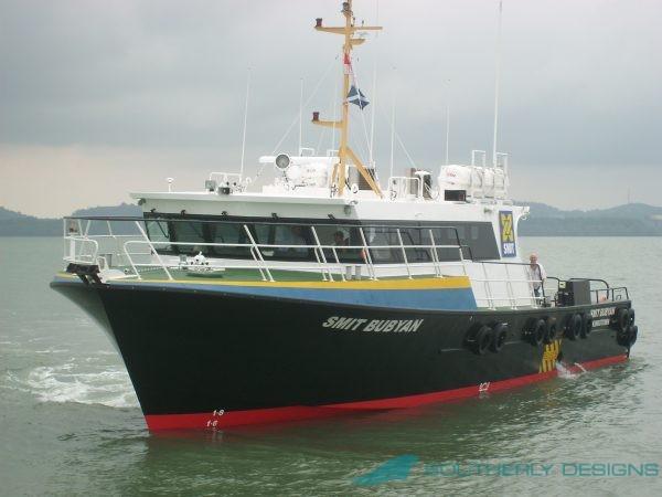 22.2m Crew Boat