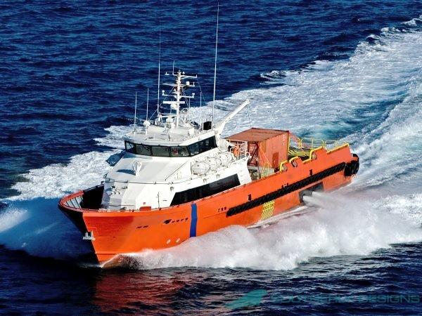 40m Fast Crew Boat Gen 1
