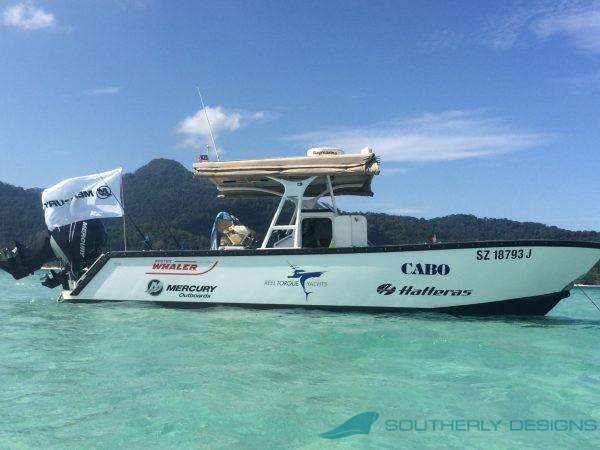 Avenger 870 Outboard