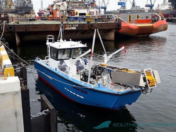 10.0m Pollution Control Vessel
