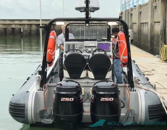 Sea Rider stern view