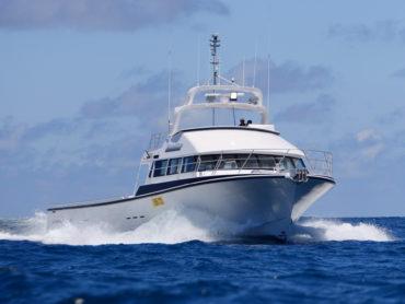 Gambler Starboard Bow Vertical