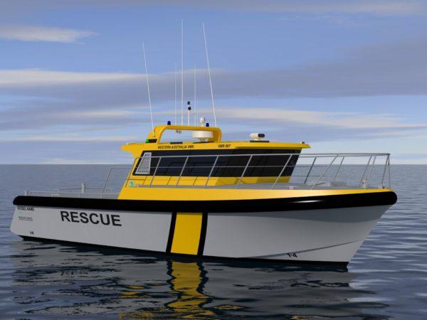 12.0m Rescue Vessel