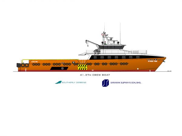 41m Crew Boat