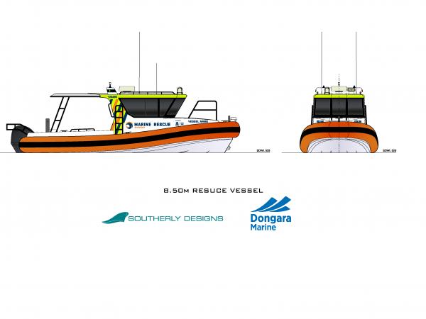 8.50m Rescue Vessel